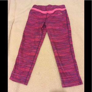Champion pink yoga/work out pants